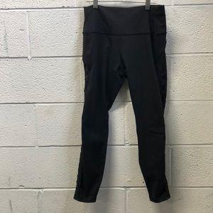 Lululemon black legging, sz 10, 62655